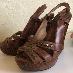 Frye High Heel Strappy Sandals size 6